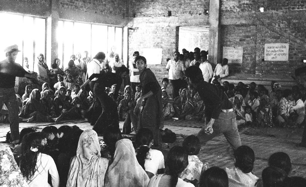 Moloyashree Hashmi in 'Aurat', 1979. Image courtesy: Jana Natya Manch