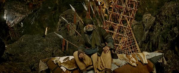 Amitabh Bachchan in Thugs of Hindostan (2018).