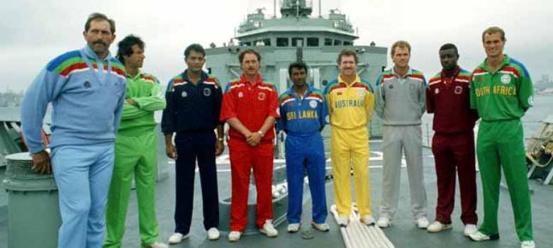 Pictures Evolution Of World Cup Jerseys From Cricket