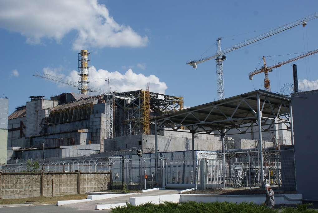 The Chernobyl reactor number 4 exploded on 26 April 1986. Image Credit: Eaomonn Butler