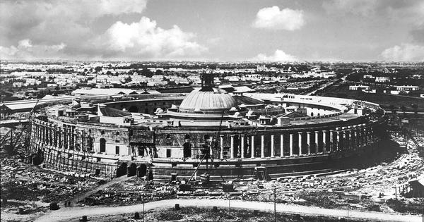 When New Delhi was new: archival images of the Capital under construction