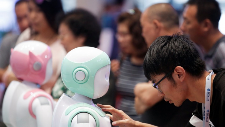 Unlike India, China is vying for the top spot in artificial intelligence research. (Credit: Reuters)