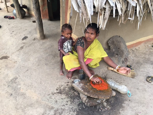 A woman in Malkangiri who lost her child in the current outbreak. Photo: Priyanka Vora.