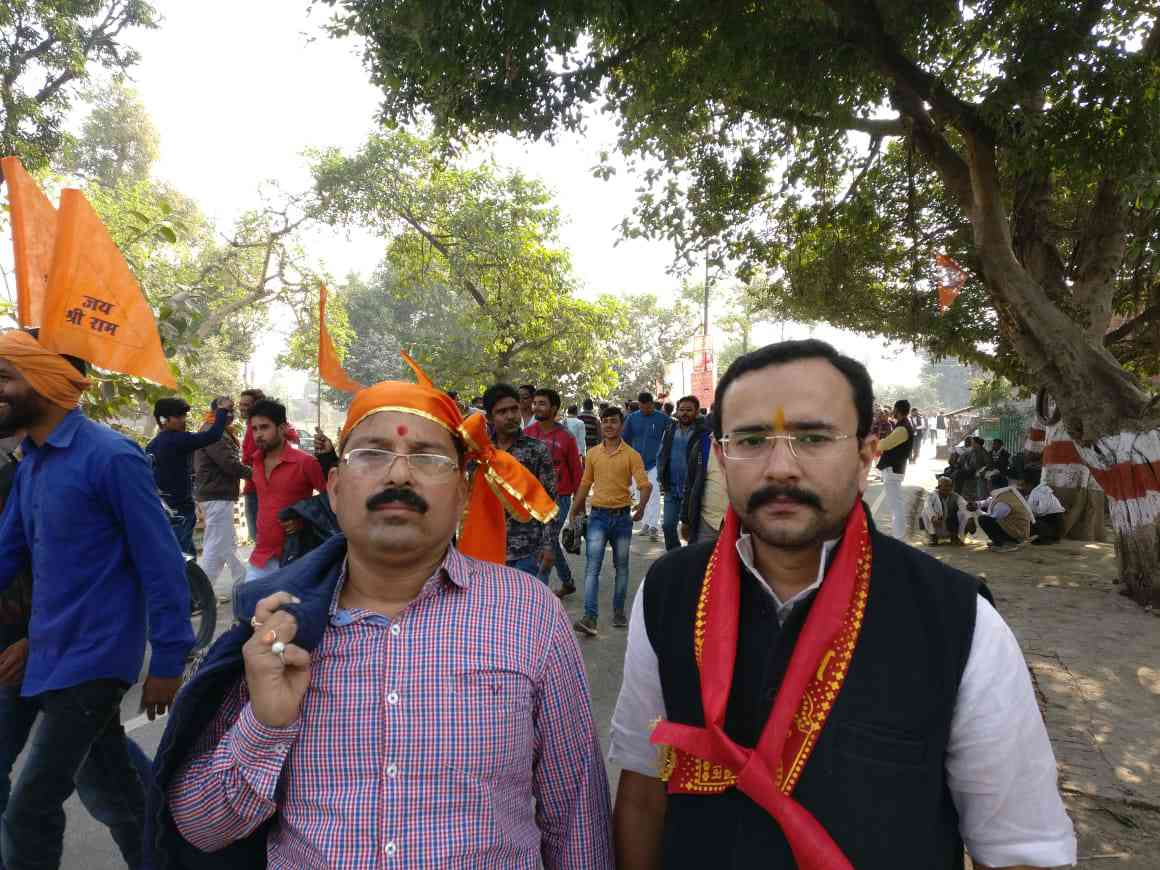 Ankit Mehrotra (right) said the only solution to bypass the judicial process is for the Modi government to bring in an ordinance.