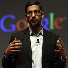 Google CEO Sundar Pichai pushes projects to enable Internet access in rural India
