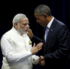 Obama calls Modi after final round of climate change talks