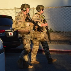 14 killed in mass shooting at California, two suspects identified