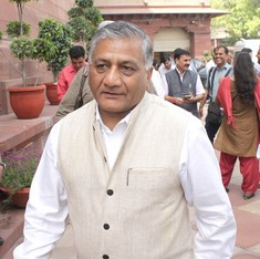 Union minister VK Singh's wife alleges blackmail, lodges extortion complaint
