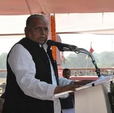 सपा कार्यकर्ता जमीन और पैसे के चक्कर में पड़े हुए हैं : मुलायम सिंह यादव