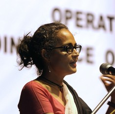 Arundhati Roy: 'Intolerance is the wrong word for the lynching and mass murder of human beings'