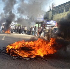 Cow slaughter rumours lead to violence in UP's Mainpuri