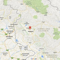 Two terrorists killed, two CRPF officers injured in Jammu and Kashmir encounter