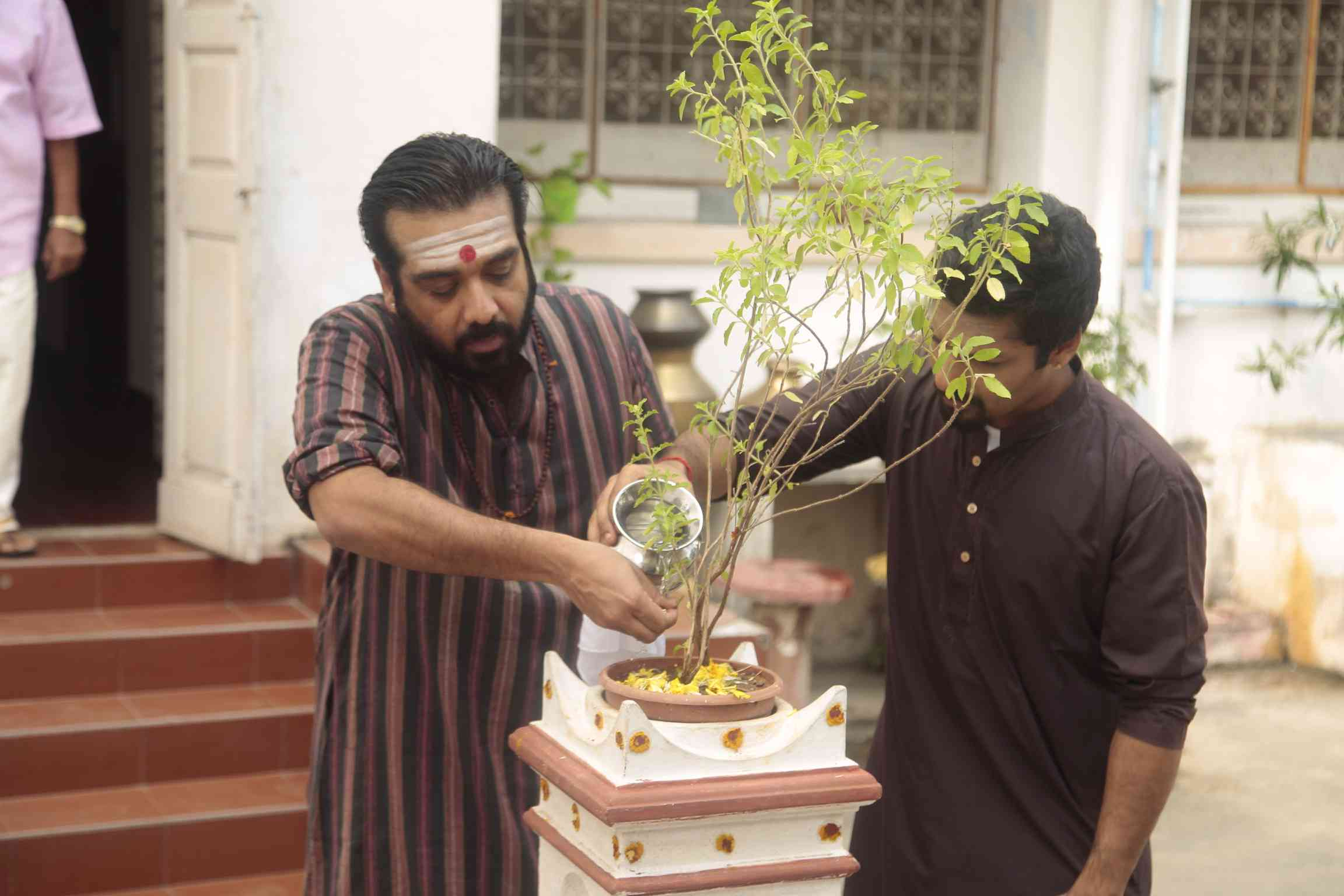 Vineeth in Sarvam Thaala Mayam. Courtesy Mindscreen Film Institute.