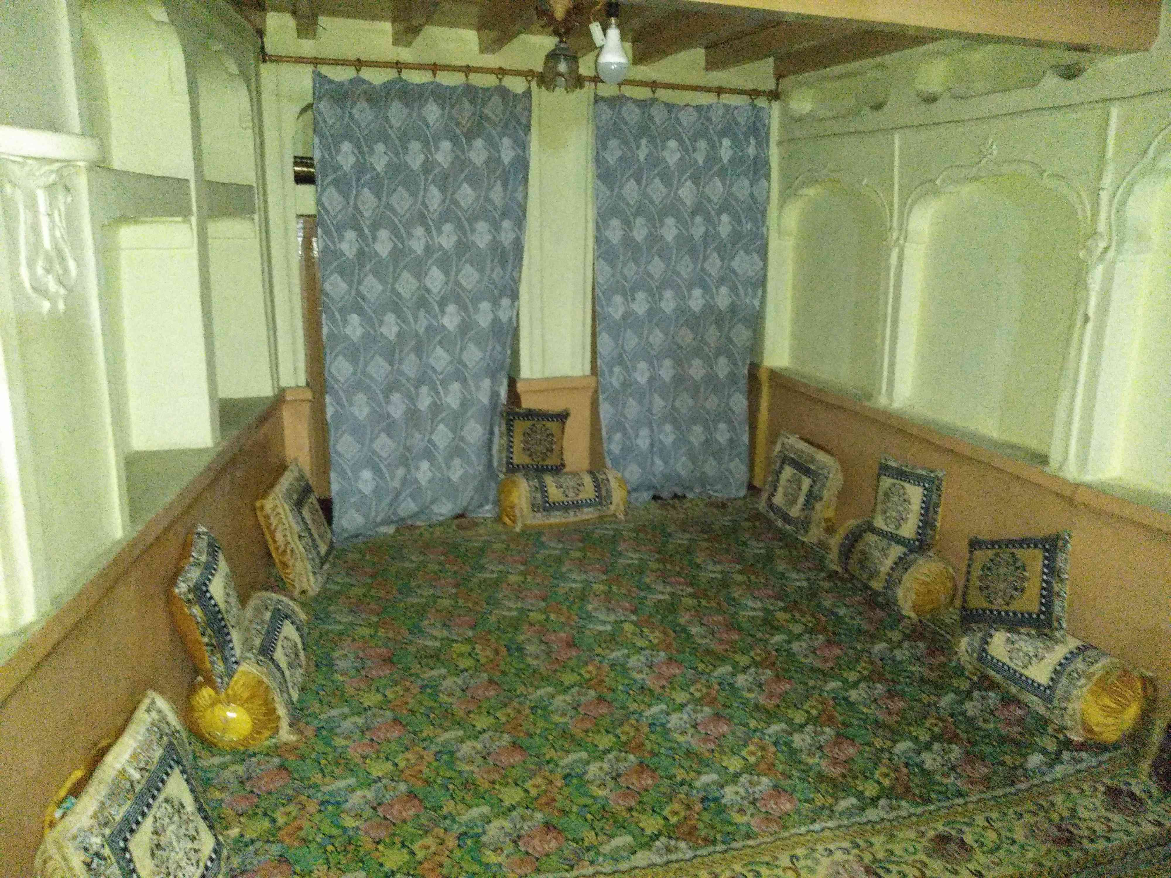 Ahtisham Sofi's room at his home in Khanyar, Srinagar. Photo credit: Safwat Zargar