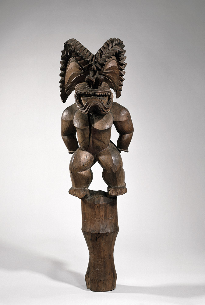 Kū-Ka-Ili-Moku, God of War, Hawaii, 1750-1800 CE. Photo: The British Museum
