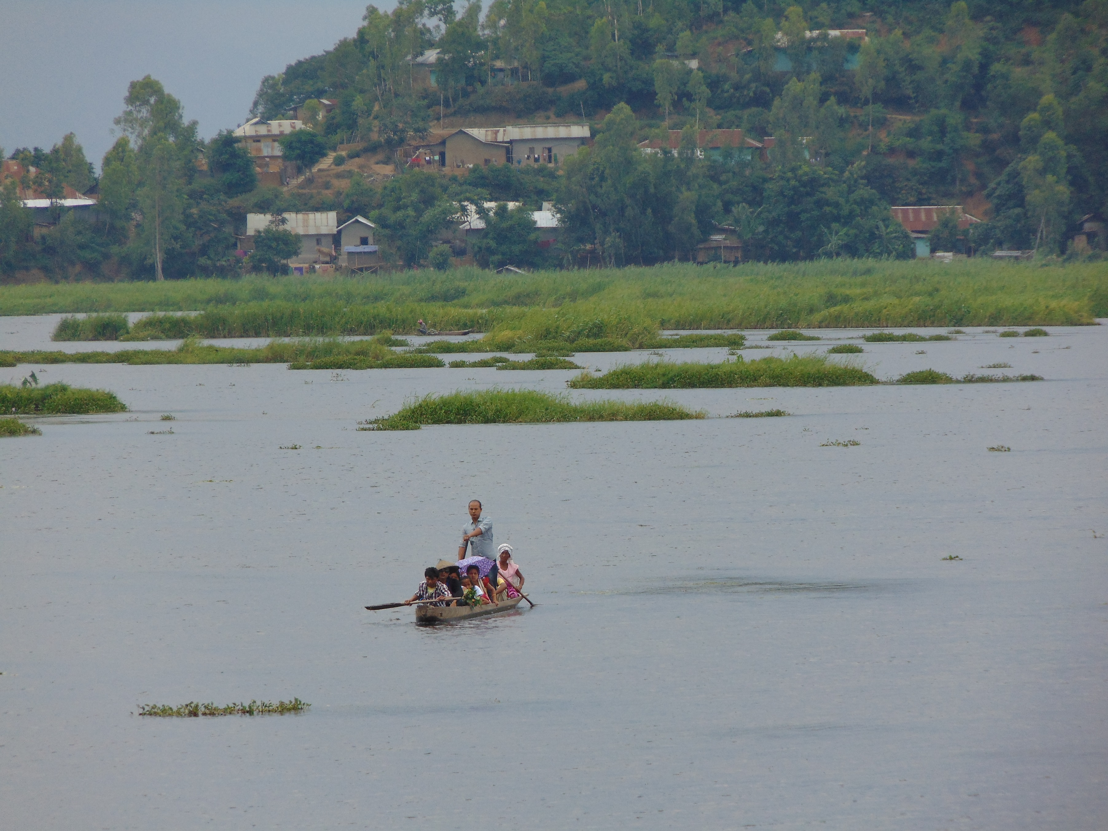 In Manipur, the world's only floating national park is losing ground
