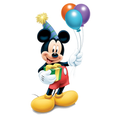 En garde! Mickey Mouse is 88 years old