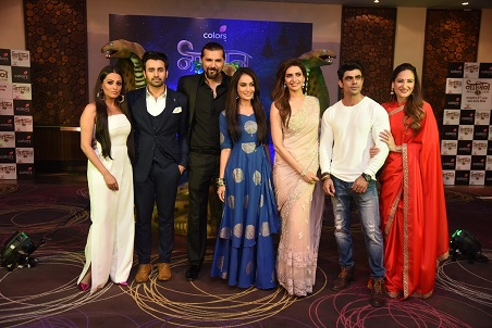 The cast of Naagin 3. Image credit: Colors Television.