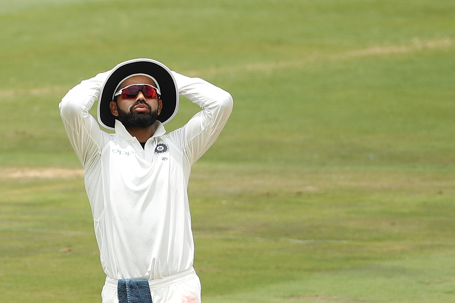 This was Virat Kohli's first Test series defeat as captain (Image: Ron Gaunt/BCCI)