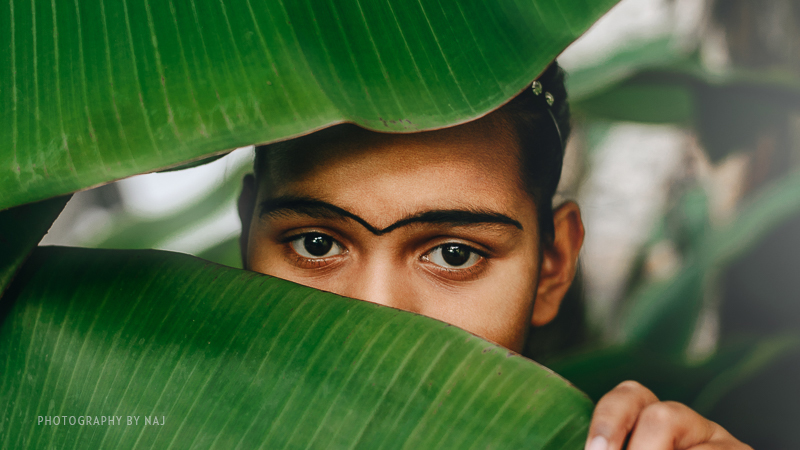 Till recently, many Maldivian parents would fill the gap between their children's eyebrows as a beauty tradition.