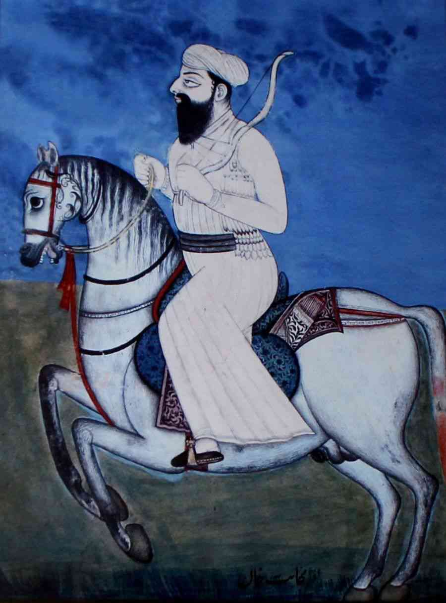 Dost Mohammad Khan. Image credit: Wikimedia Commons [CC BY-SA 4.0]