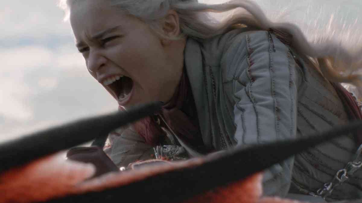 Daenerys Targaryen (Emilia Clarke) in Game of Thrones. Courtesy HBO.