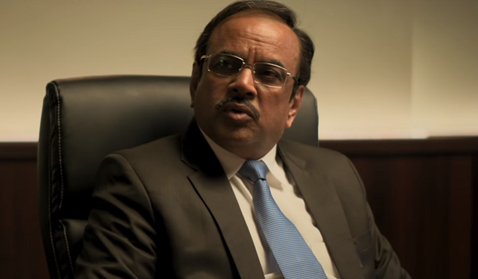 Paresh Rawal in Uri: The Surgical Strike (2019). Courtesy RSPV Movies.