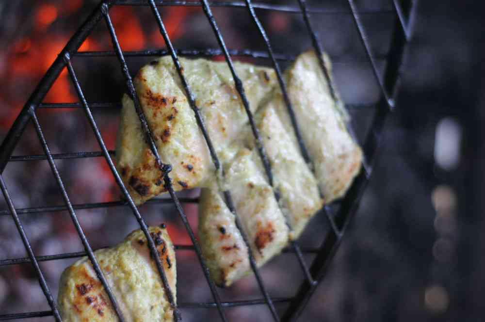 Fish Jali Kebab.