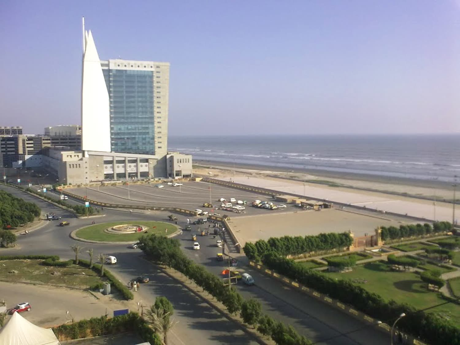 Karachi's Seaview area near the Clifton Beach in 2015.