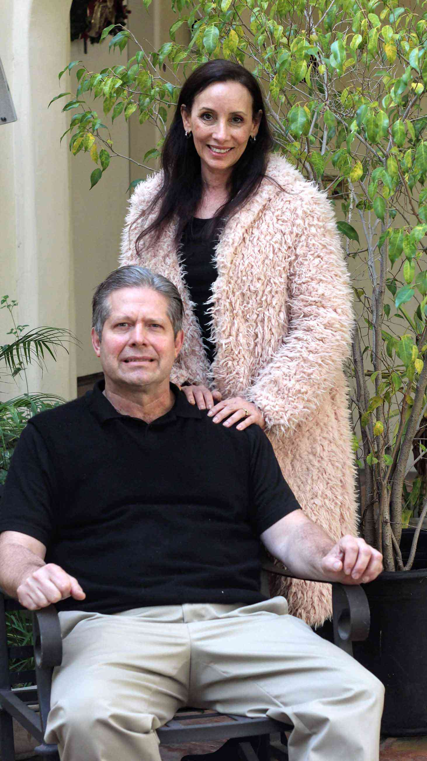 In 2016, Anthony Andrews and his wife Mona were told he likely had CTE, a neurodegenerative disorder caused by repeated head impacts.  (Photo: Elizabeth Svoboda)