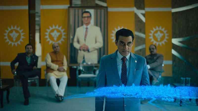 Ashwath Bhatt in Leila (2019). Courtesy Netflix.