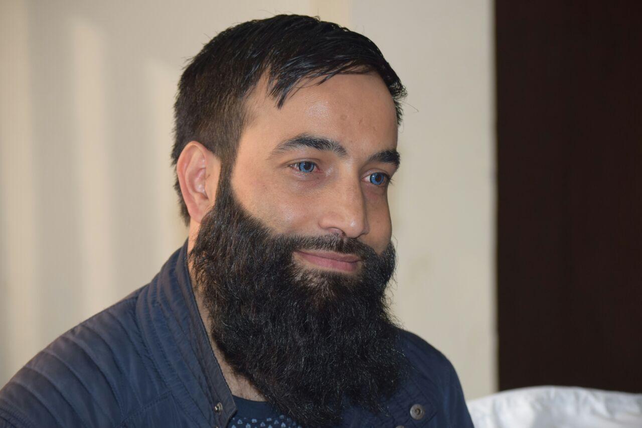 Aijaz Ahmad Bund. Photo credit: Aijaz Bund