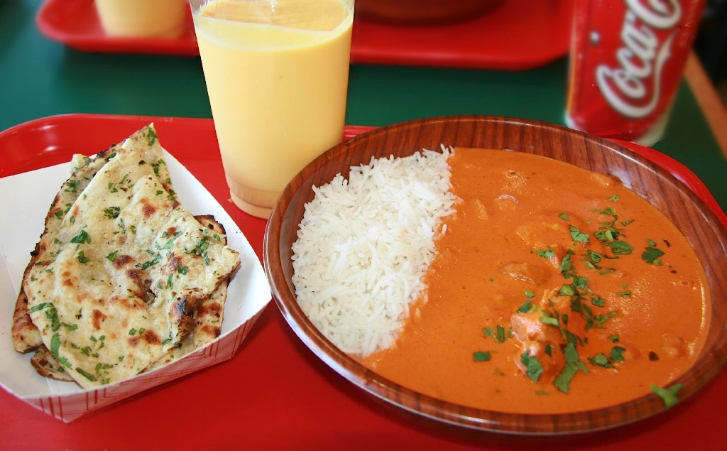 Chicken tikka masala. Photo credit: Hellosputnik/Wikimedia Commons [CC Attribution 2.0 Generic License]