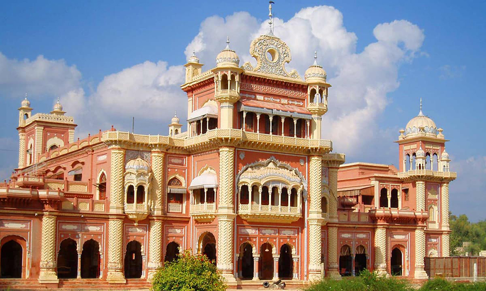 Faiz Mahal, built by the Talpur rulers of Khairpur in Sindh. Arsalanrkazi /Wikimedia Commons [Licensed under CC BY Arsalanrkazi]
