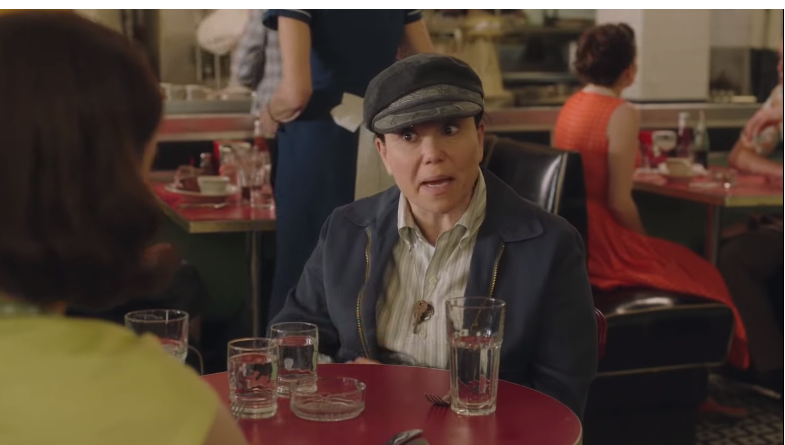 Alex Borstein in The Marvelous Mrs Maisel. Credit: Amazon Prime Video.