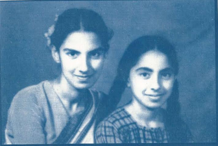 Diba Siddiqi's aunts, Sayera and Imrana. (Photograph courtesy: Diba Siddiqi).