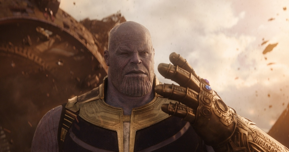 Thanos (voiced by Josh Brolin) in Avengers: Infinity War. Image credit: Marvel Studios.