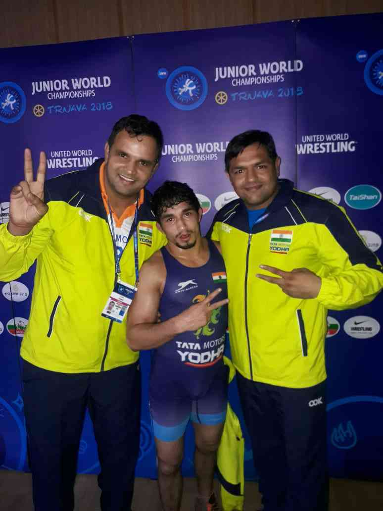 Junior wrestling world championships: India win seven medals