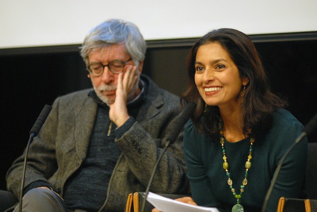 Domenico Starnone and Jhumpa Lahiri | Image credit: leanne@tendenci.com / Wikimedia Commons