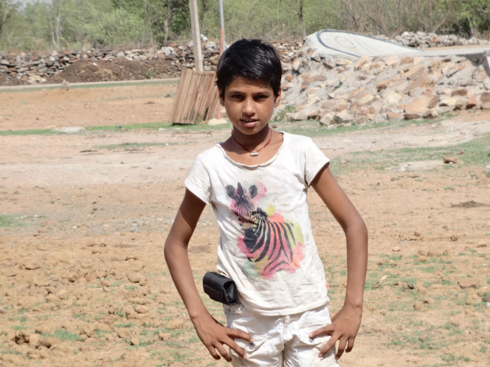 Shivjeet Yadav, the 13-year-old photographer.