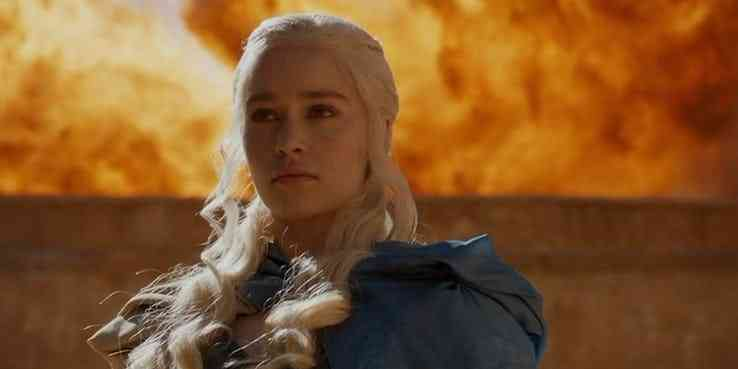 Daenerys (Emilia Clarke) in And Now His Watch is Ended, season 3 episode 4 (2013). Courtesy HBO.
