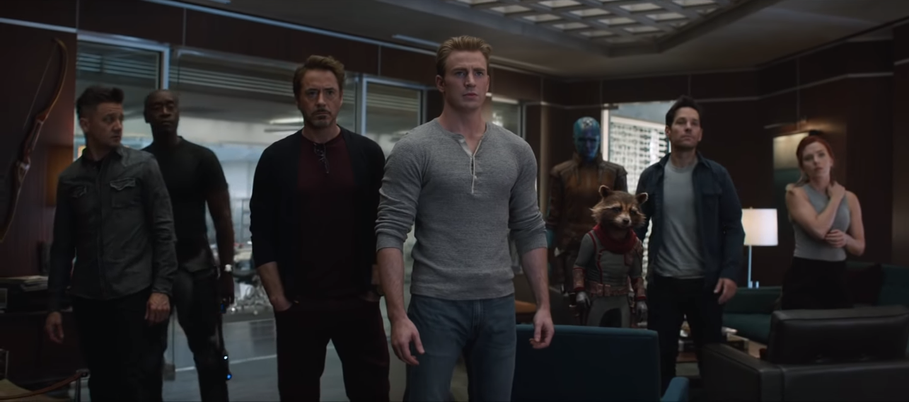 The Avengers in Avengers: Endgame. Courtesy Marvel Studios/Disney.