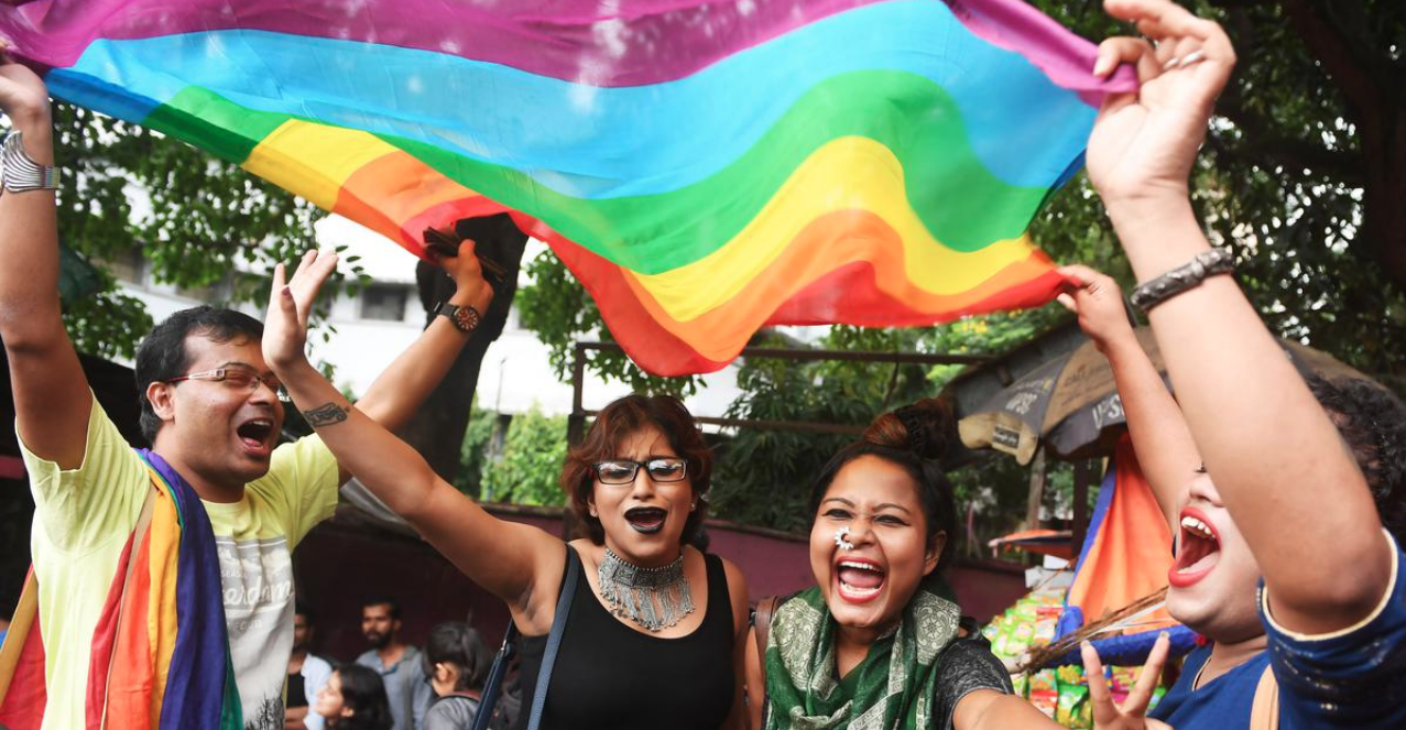 As chief justice, Dipak Misra presided over judgements that furthered individual rights and equality before law – such as the order decriminalising homosexuality. (Credit: AFP)