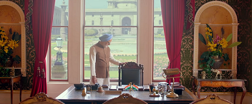 Anupam Kher as Manmohan Singh in The Accidental Prime Minister (2019). Courtesy Bohra Bros.