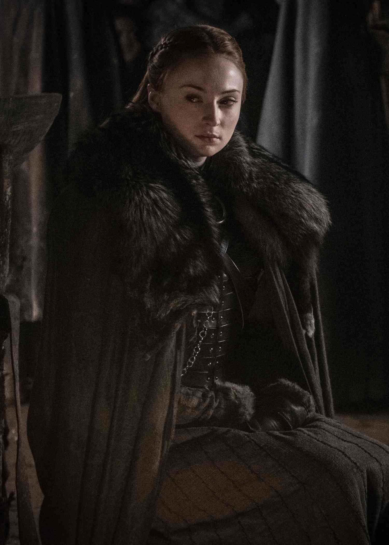Sophie Turner as Sansa Stark. Courtesy HBO.