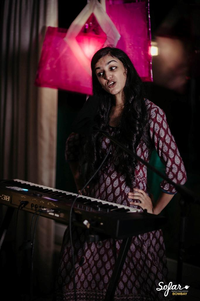Aditi Ramesh. Credit: Awkward Bong. Courtesy: Sofar Sounds