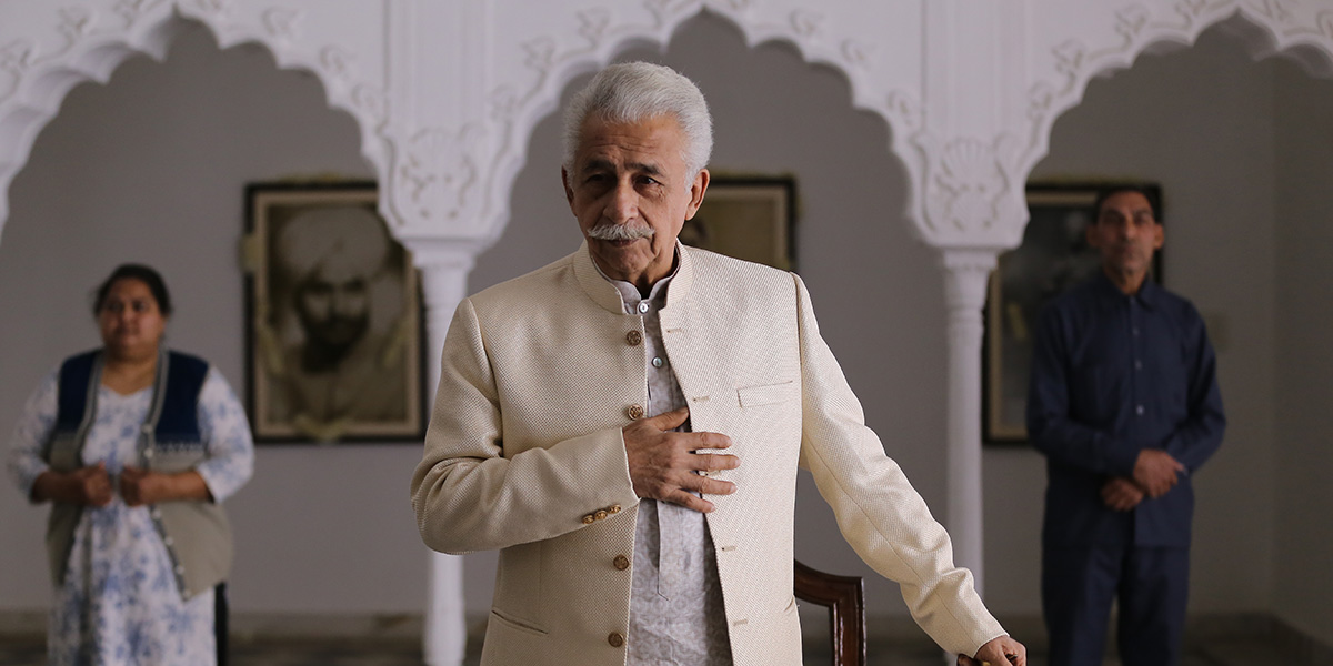 Naseeruddin Shah in The Hungry (2017). Image credit: Cinestaan Film Company/Film London.