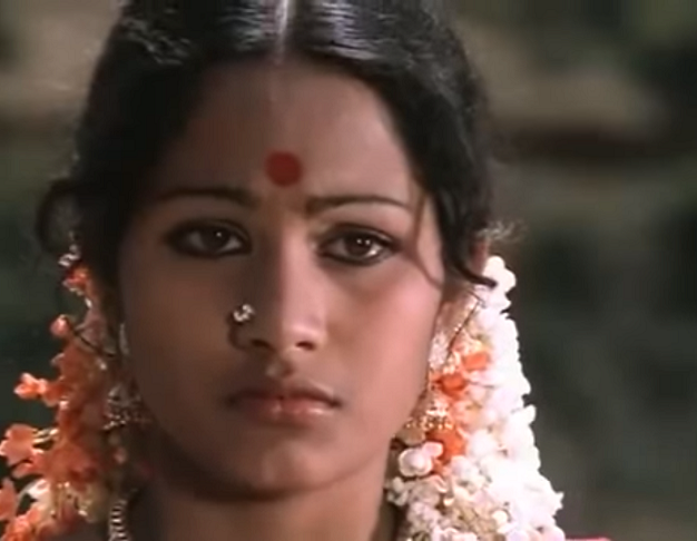 Shobha in Mullum Malarum (1979).