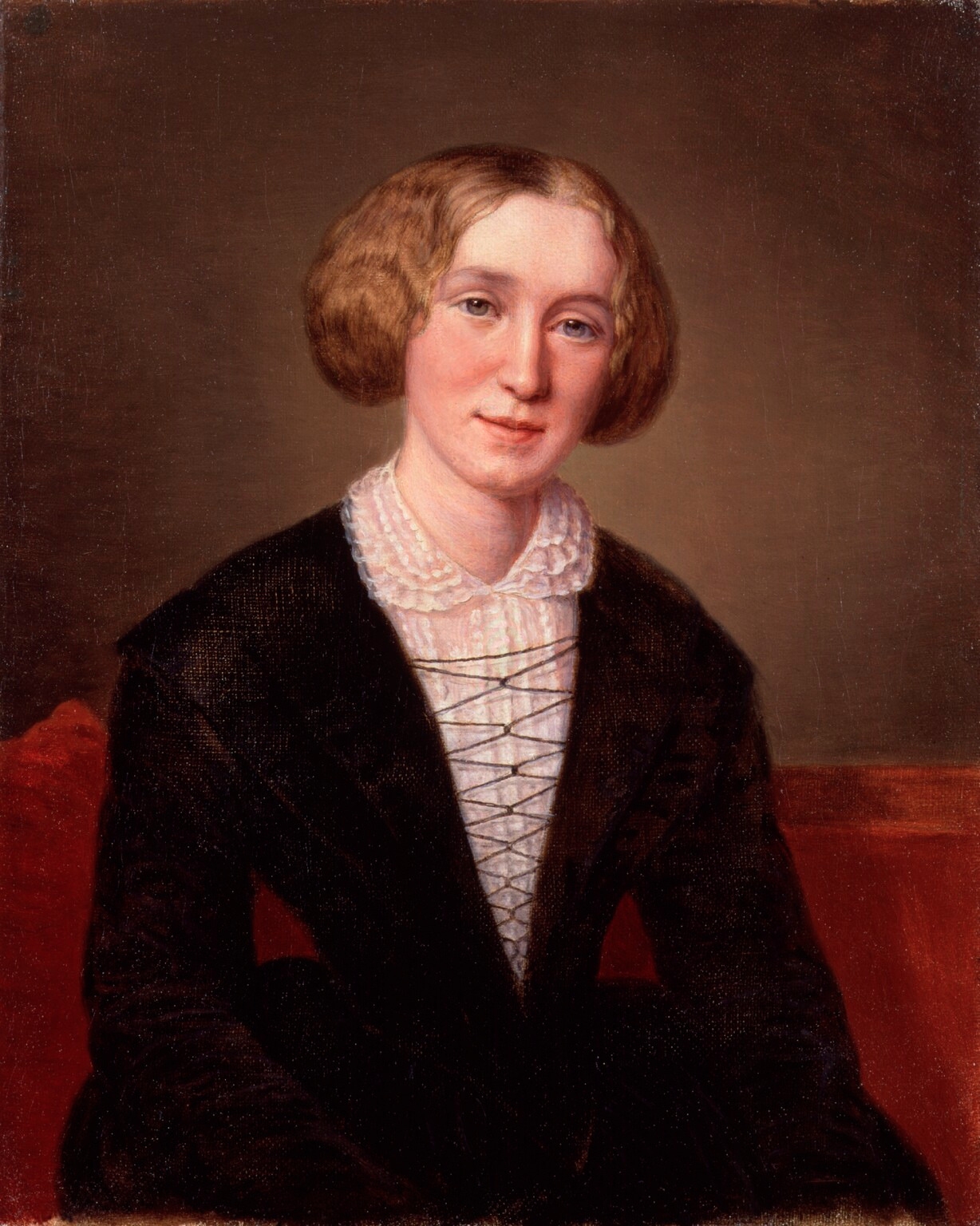 George Eliot aged 30, by the Swiss artist Alexandre-Louis-François d'Albert-Durade | Wikimedia Commons