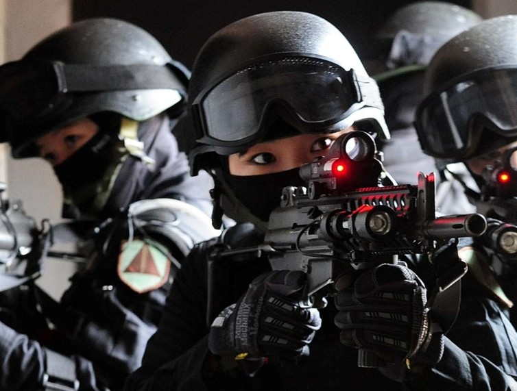 The 707th Special Mission Battalion, a special forces unit in the Republic of Korea Army Special Warfare Command. Wikimedia/Republic of Korea Armed Forces, CC BY